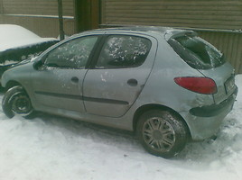 peugeot 206 Hečbekas 2000