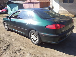 Peugeot 607 2001 y. parts
