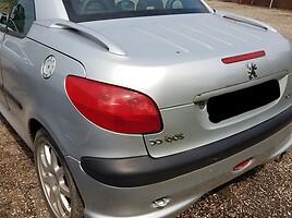 Peugeot 206 Cc 2001 m dalys