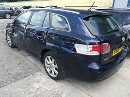 Toyota Avensis III 2010 y. parts