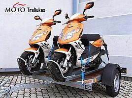 Priekaba  Moto pervezimas 2016 m nuoma