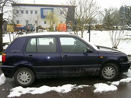Volkswagen Golf III Benzinas ir dyzelis 1996 m. dalys