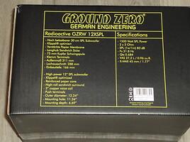 Žemų dažnių garsiakalbis  Ground Zero GZHW30SPL