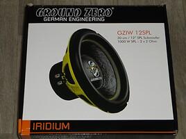 Žemų dažnių garsiakalbis  Ground Zero gziw12spl yra kitų!
