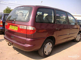 Volkswagen Sharan 85 kw 1997 m. dalys