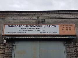 Audi A6 C5 2002 m dalys