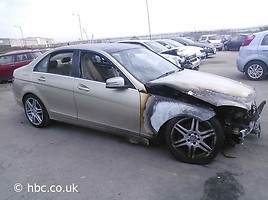 Mercedes-Benz C Klasė 2011 m dalys
