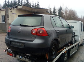 Volkswagen Golf V EUROPA BXE 2007 y. parts