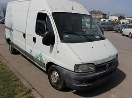 fiat ducato Krovininiai mikroautobusa 2005