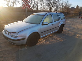 Volkswagen Golf IV  1.9 DYZELIS 74 KW Universalas 2002
