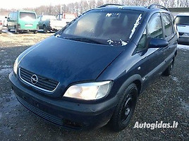 opel zafira a 2001