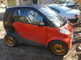 Smart Fortwo I 2001 y. parts
