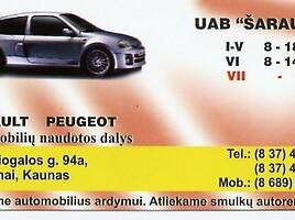 Renault Megane II 2005 y parts