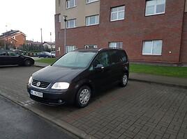 Volkswagen Touran I 2.0 DYZELIS 103 KW Vienatūris 2005