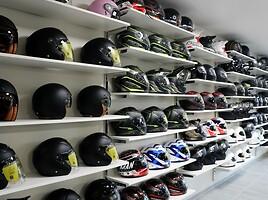 Motomafia Kaunas Moto шлемы