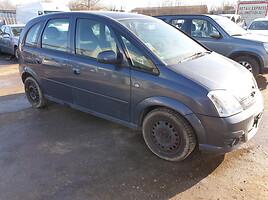 Opel Meriva I 2007 m. dalys