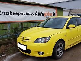 Mazda 3 I Hečbekas 2006