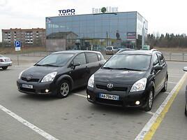 Toyota Corolla Verso Dyzelinas  2008 m Vienatūris