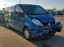 Renault Trafic Keleivinis mikroautobusas 2007