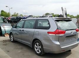 Toyota Sienna 2014 г запчясти