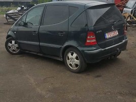 Mercedes-Benz A Klasė A 170 CDI 2002 m dalys