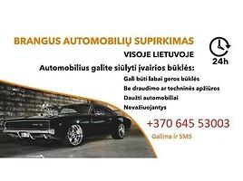 Brangiai, skubiai superkam automobilius 867972282