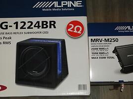 Žemų dažnių garsiakalbis  Alpine Komplektų pasirinkim