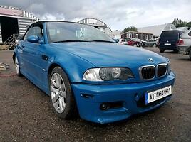 BMW M3 Kabrioletas 2001