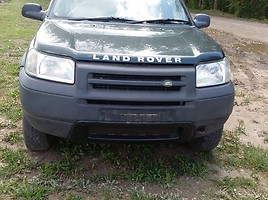 Land Rover Freelander I 2001 m dalys