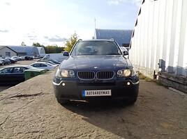 BMW X3 E83 Visureigis 2004