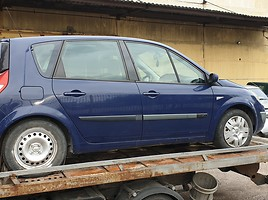 Renault Scenic II 88 kW 2004 m dalys