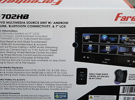 Multimedia  Farenheit Ti-702HB Android 7""