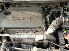 Nissan Almera Tino 84 kW 2002 m dalys