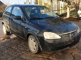 Opel Corsa C 48 kW 2001 m dalys