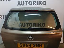 Galinis dangtis, Toyota Avensis II 2006 m dalys