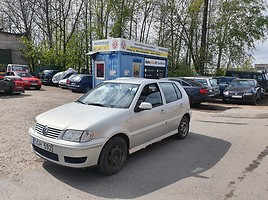 Volkswagen Polo IV 1.4 BENZINAS 55 KW Hečbekas 2001