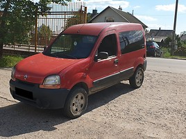 Renault Kangoo I 4x4, 70 kW Hečbekas 2002