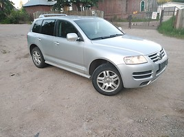 Volkswagen Touareg europa Visureigis 2006