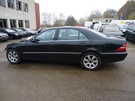 Mercedes-Benz S 500 W220 Sedanas 2000
