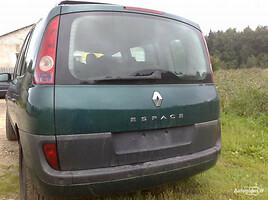 Renault Espace IV 2.2DCI 2004 m. dalys