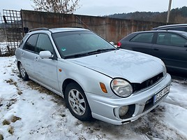 Subaru Impreza GC Universalas 2001