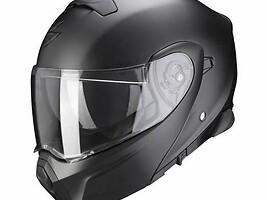 Scorpion EXO-930 matt black moto Šalmas