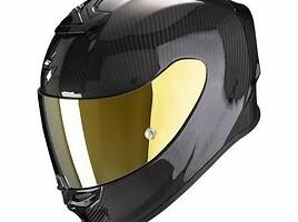 Scorpion EXO - R1 carbon moto  Šalmas