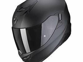 Scorpion EXO-520 black matt moto Šalmas