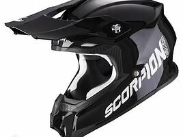 Scorpion VX - 16 gloss black Šalmas