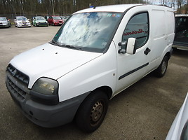 Fiat Doblo I Komercinis auto(su būda) 2003