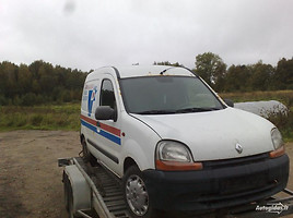 Renault Kangoo I dyzelis benzinas Commercial auto (with box)