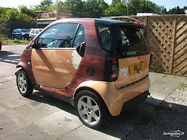 Smart Fortwo 2001 m. dalys