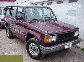 isuzu trooper Visureigis 1990
