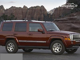 jeep commander Visureigis 2007